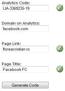 google analytics pe pagina de facebook - 2