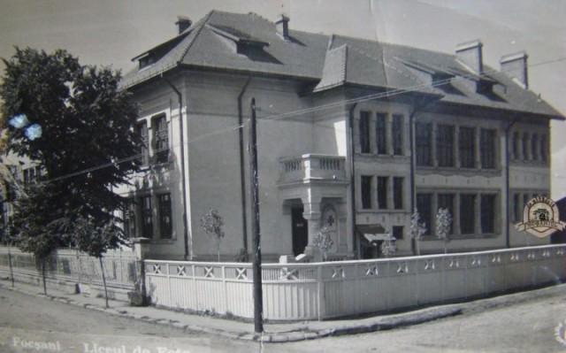 Liceul de fete - Focsani