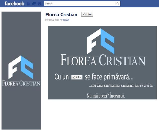 florea cristian pe facebook inainte de like
