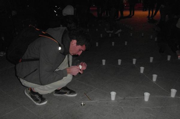 Cristian Florea la Earth Hour