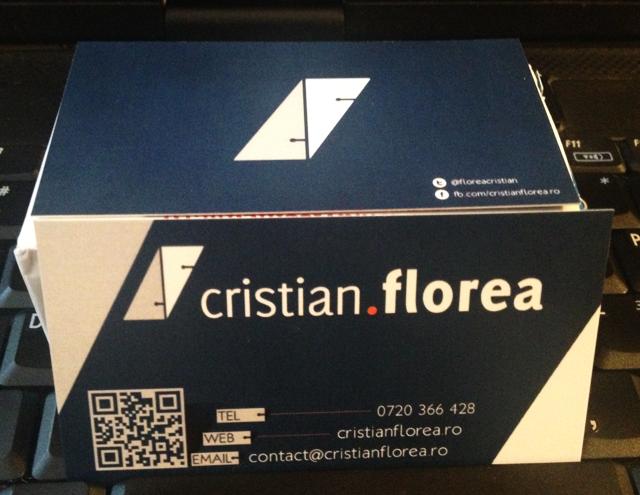 cristian florea carte de vizita
