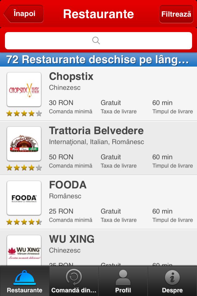 aplicatie food panda 2