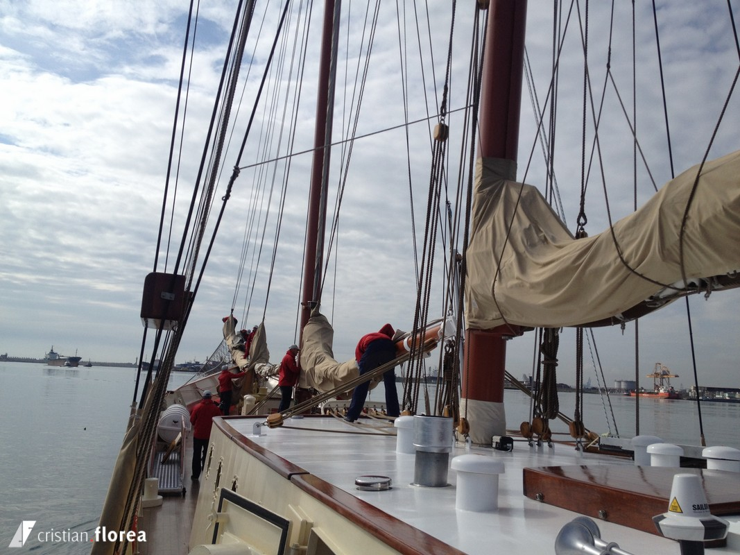 aventura pe o nava cu panze - constanta varna 21