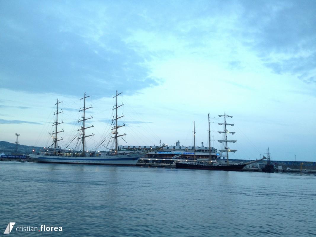 aventura pe o nava cu panze - constanta varna 66