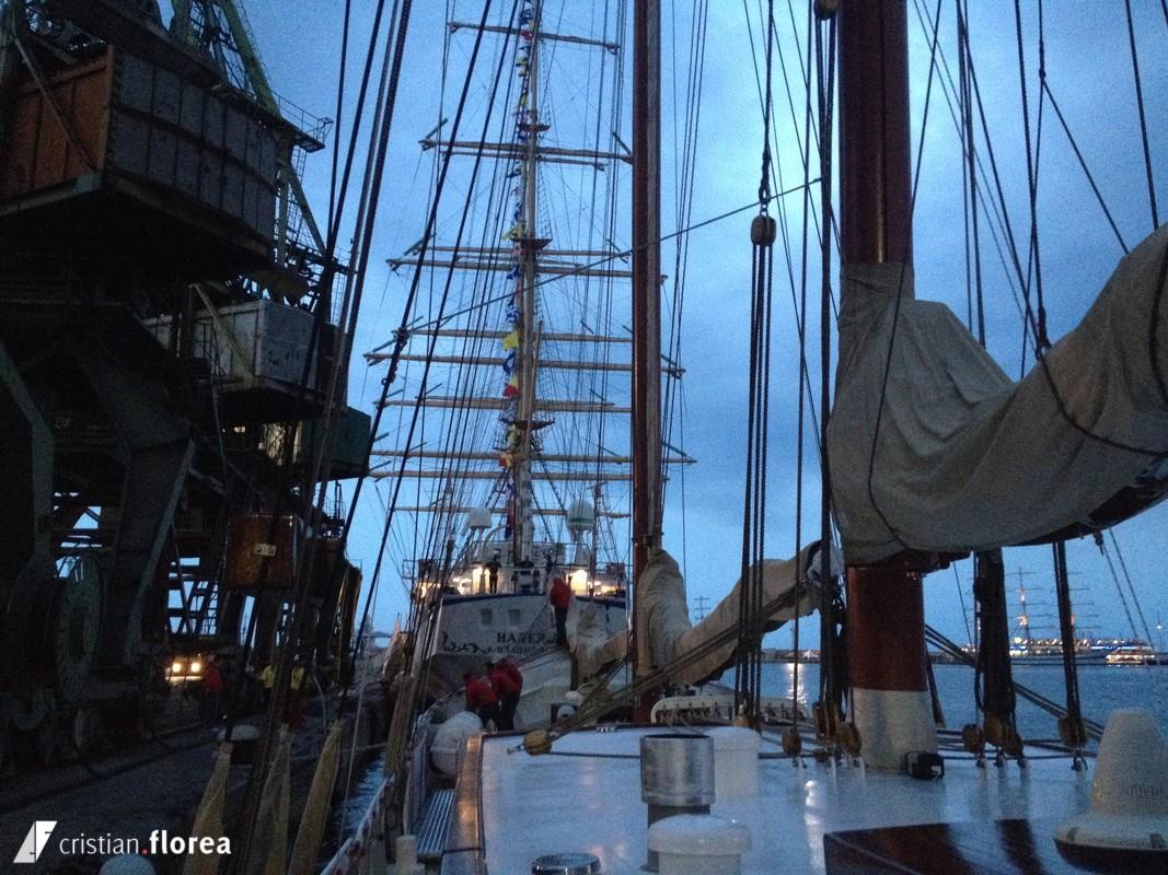 aventura pe o nava cu panze - constanta varna 70