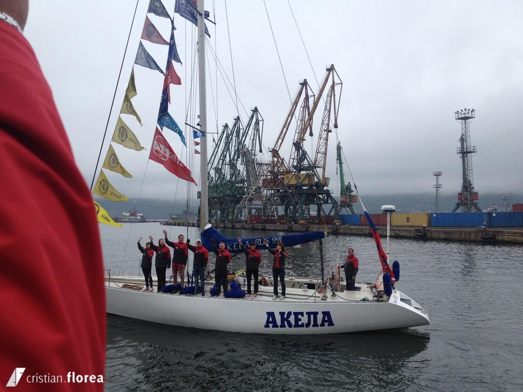aventura pe o nava cu panze - constanta varna 73