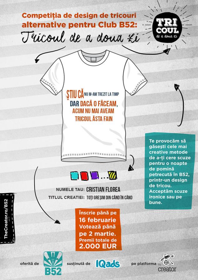 tricou b52 - cristianflorea