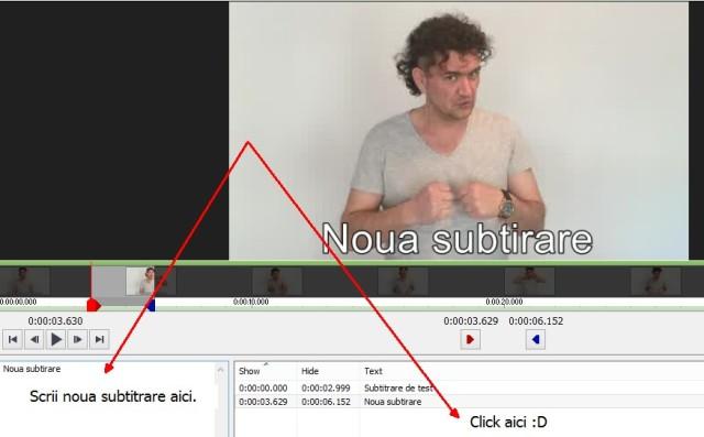 cum adaugi subtitrare unui clip 2 - videopad