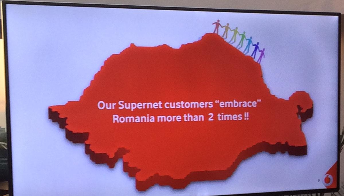 un an de la Vodafone Supernet 2