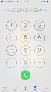 numere in loc de bilute de semnal - iphone 3