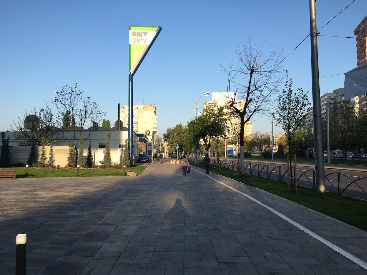 schimbare - trotuar - sector 2