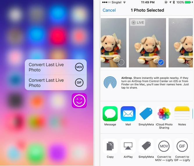 aplicații pentru iPhone - ligify