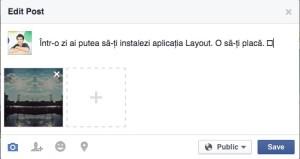 schima poza dintr-o postare pe Facebook 2