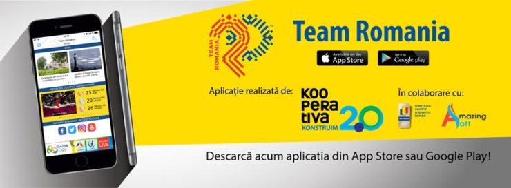 aplicatia team romania