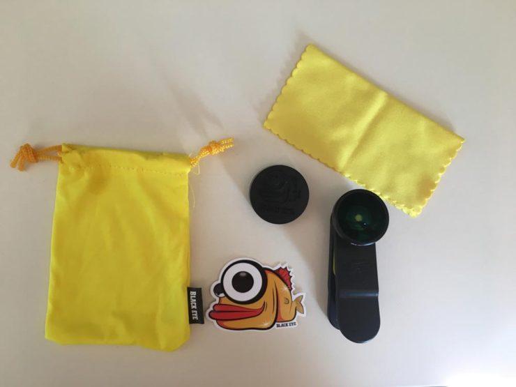 fotografii lentila full-frame fisheye de la black eye