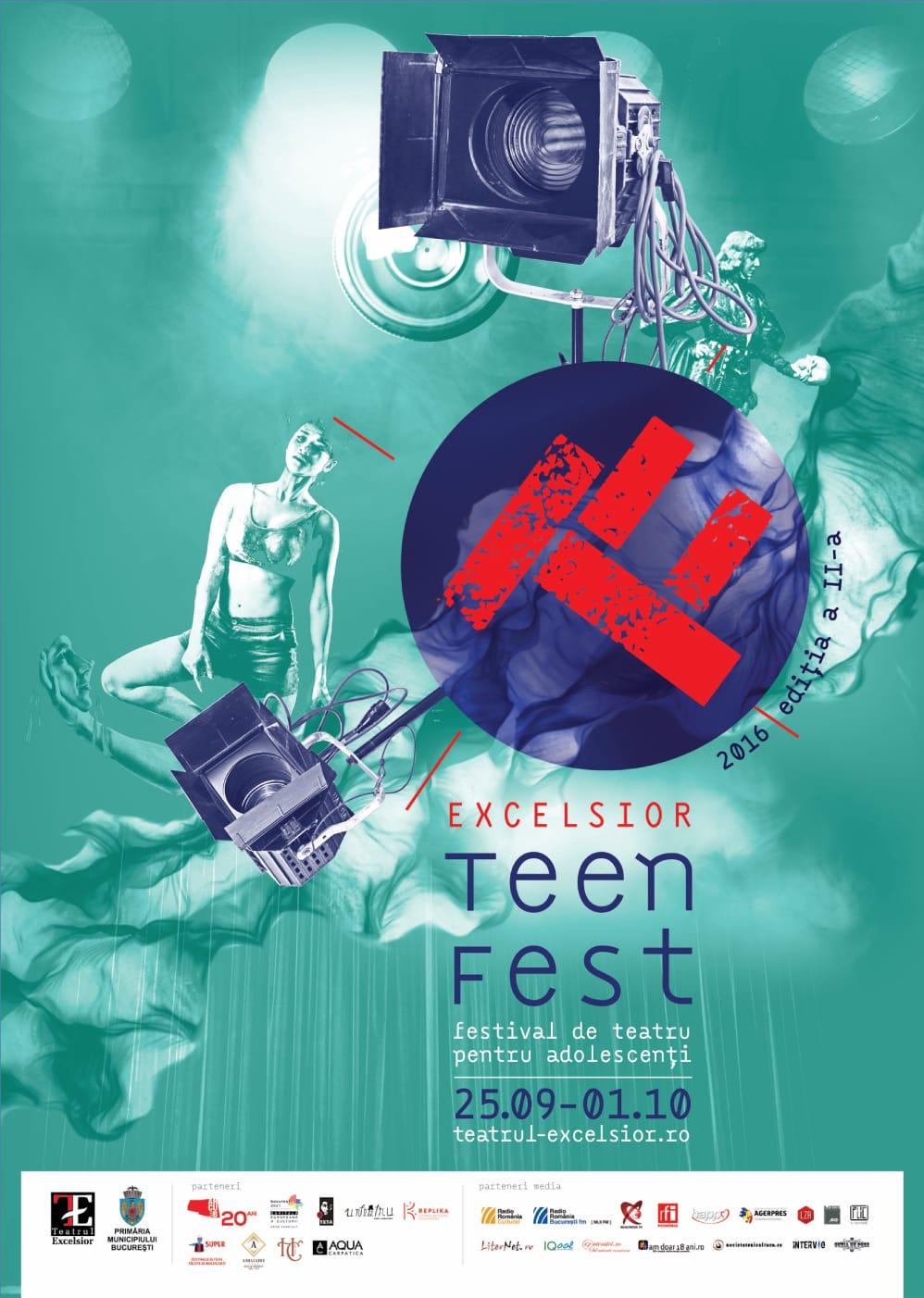 afis teen fest - teatru
