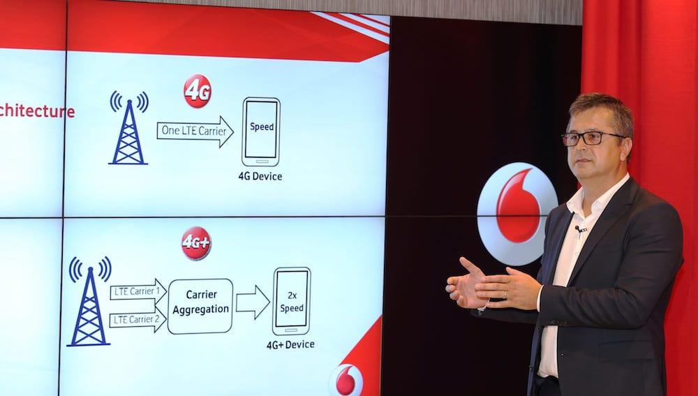 ce inseamna carrier aggregation - Vodafone Supernet 4G+