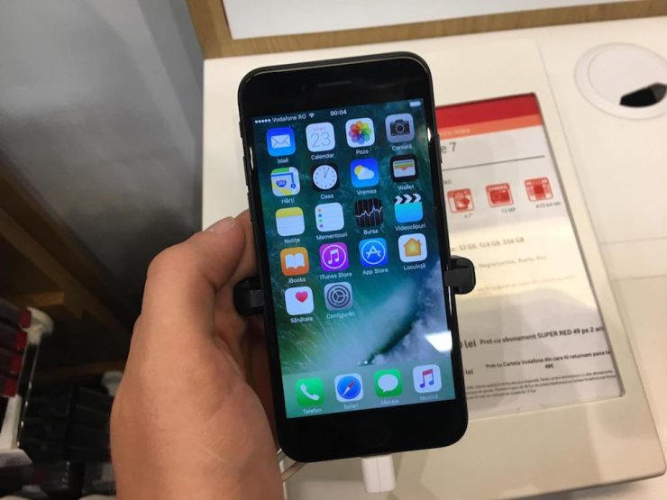 iphone 7 la vodafone romania