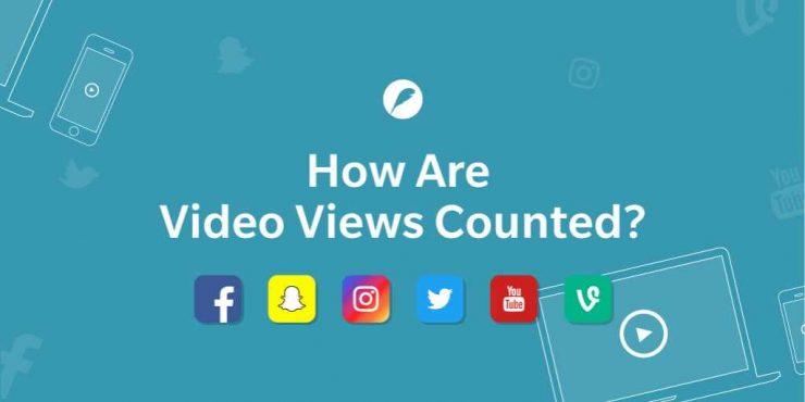 cum sunt contorizate vizualizările clipurilor de pe fiecare rețea socială