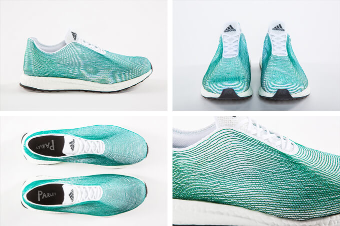 adidas parley - pantofi sport facuti din pet-uri culese din ocean