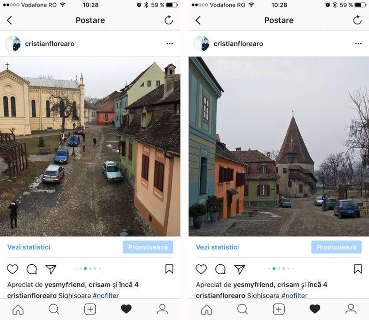 albume foto pe instagram