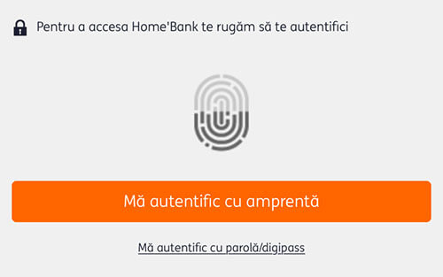login ing homebank cu amprenta - cover