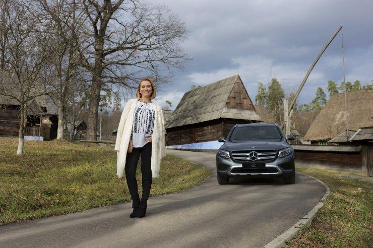 Ambasador Mercedes-Benz in Romania - Andreea Esca