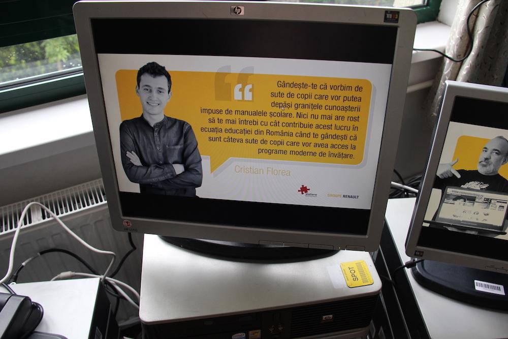cristian florea - donații de calculatoare