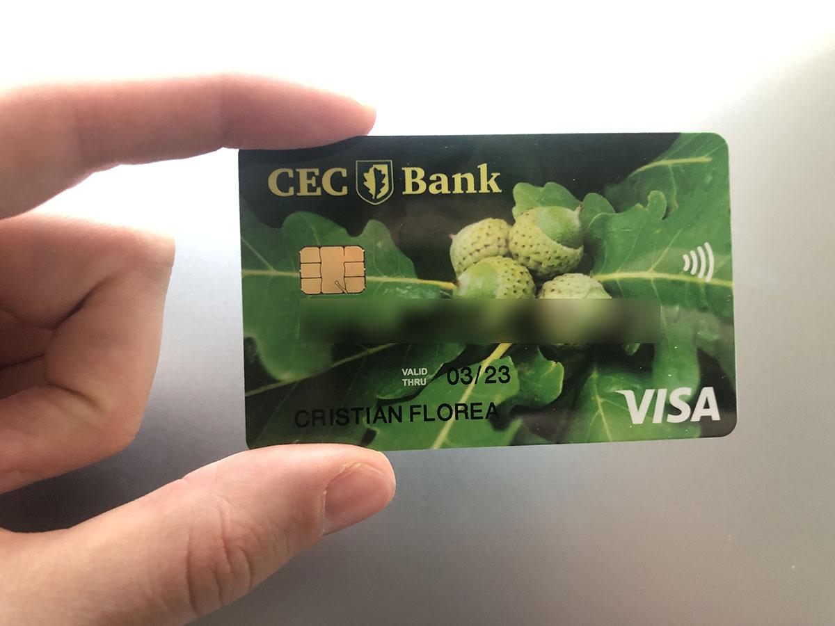 La CEC poți să-ți faci cont și card 100% online, fără să mergi la ghișeu.  Tocmai am testat   Cristian Florea
